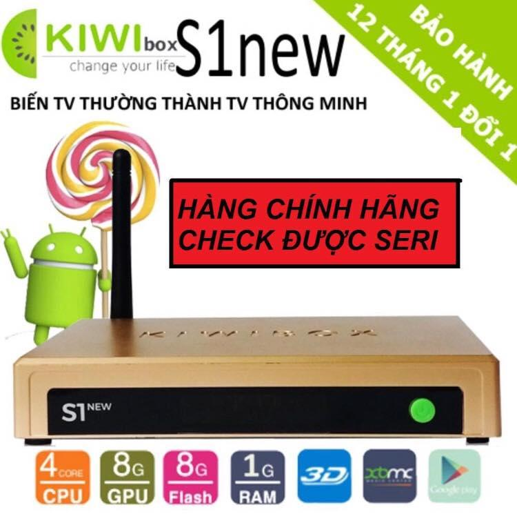 Andoroid TV Box KIWIBOX S1 NEW 2018 , HỖ TRỢ 4K 3D, Tặng VIPCODE HDPLAY